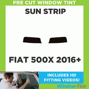 Pre Cut Window Tint - Fiat 500X 2016 Sunstrip