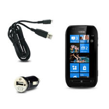 Caricabatterie e dock Per Nokia Lumia 710 con micro USB per cellulari e palmari Nokia