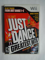 Just Dance Greatest Hits Game Complete! Nintendo Wii