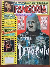 Anthony Hopkins, Dawn of the Dead, Drew Barrymore - FANGORIA Magazine 1992