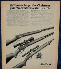 ORIGINAL Advertising MARLIN Model 336C, Model 39 Century Ltd...1-p Magazine 1970