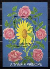 Sao Tomé and Principe : Flowers 1993 ( MNH )