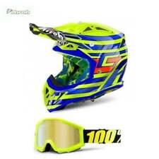Casques jaunes motocross/ATV pour véhicule