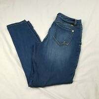 INC International Concepts Women's Size 10  Skinny Leg Curvy Fit Stretch Jeans