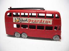 Vintage 1958 Lesney #56A LONDON TROLLEY BUS, RESTO-MOD RARE BLACK POLES GPW 2