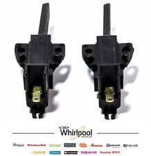 Whirlpool 481236248004 Jeux Charbon moteur machine a laver brosse balais