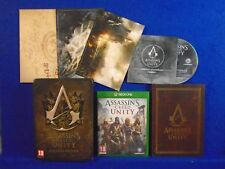 xbox one ASSASSINS CREED UNITY Bastille Edition COMPLETE PAL