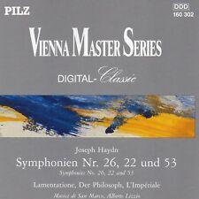 Joseph Haydn - Symphonien Nr. 26, 22, and 53 CD (Pilz)