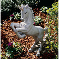 "The Enchanted Unicorn Design Toscano Exclusive Hand Painted 16½"" Sculpture"
