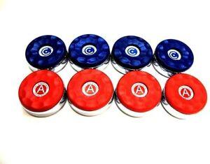 "American Shuffleboard Pucks - 2-5/16"" - Set of 8"
