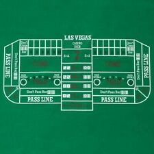 Trademark Poker Casino Game Craps Layout 24 by 48 Inches Chips Not Included