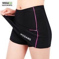 WOSAWE Womens Sports Cycling Bike Bicycle Pro Skort Short Skirt Gel Padded S~XL