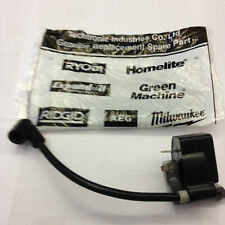 NEW GENUINE RYOBI  IGNITION COIL FITS STRIMMERS PLT2543/PBC3046 ETC ETC .