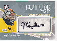 2010 10-11 Between The Pipes Autographs #AMS Malcolm Subban future stars Bruins