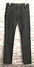 American Eagle Women's Black Denim Stretch Slim Fit Jeans Size 4 A87