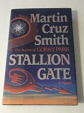 MARTIN CRUZ SMITH SIGNED Stallion Gate BOOK 1986 1st Ed