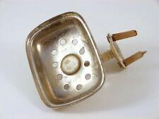 Antique Nickel Brass Sponge/Soap Holder The Brasscrafters Bathroom Wall Fixture