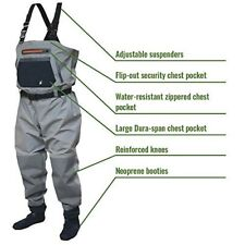 Frogg Toggs Sierran Fly Fishing Breathable Stockingfoot Chest Wader -Size Large