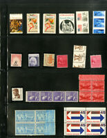 US Lot of 50 Mint Stamp Errors Collection shifts imperfs and more
