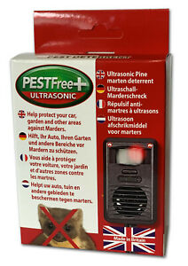PESTFree Plus Ultrasonic deterrent for cats, foxes, martens, rabbits