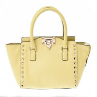 Valentino Garavani 2WAY bag studs yellow Hand Bag 800000086014000