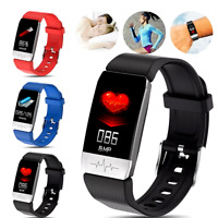 Smart Watch PPG ECG Blood Oxygen Pressure Heart Rate Body Temperature Monitor Z+