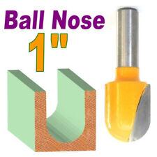 """1pc 1/2"""" Shank 1"""" Diameter 1-5/16"""" Long Ball Round Nose Router Bit  sct-888"""