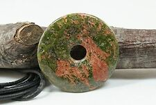 Donut Anhänger UNAKIT, ca. 40 mm, mit Lederband !