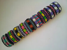 Rainbow Loom Rubber Band Bracelet - Starburst, Pick or Custom Made