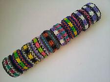 Rainbow Loom Rubber Band Bracelet - Starburst, Pick or Custom Made