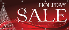 SALE BANNER SIGN RETAIL STORE Holiday SALE SIGNS 96in X 36in Multi Color New