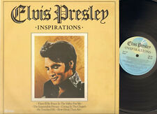 INSPIRATIONS Elvis Presley LP K-tel 80 Crying in the Chapel PADRE He Touched Me