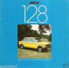 Auto Brochure - Fiat - 128 - 1100 1100C - c1978 (AB198)