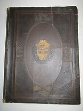 1924 THE VOLUME LIBRARY LEATHER BOOK BY ABRAM BRUBACHER -  - TUB BN-2