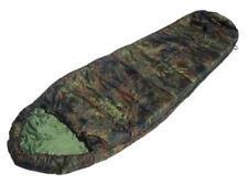 FLECKTARN Camouflage Commando SLEEPING BAG with Hood - German Army Type Camping