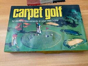 Vintage Retro Carpet Golf Game, Boxed, Complete, Turner Research - Complete
