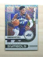 2019-20 Status Basketball Donovan Mitchell Blue Symbols Holo, Utah Jazz