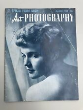 Lot Of 4 Vintage 1950s Nude Figure Studies Art Photography