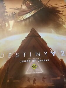 2017 PSX Destiny 2 Curse of Osiris Poster 24x36 Playstation Experience PS4