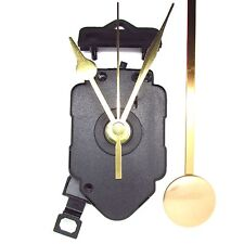 New Complete Quartz Pendulum Clock Movement Mechanism Motor Kit & Metal Hands