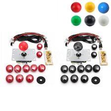2 Player DIY Arcade Set Kits Replacement USB Encoder Board Joystick Push Buttons