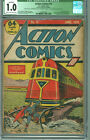 Action Comics 13 CGC 1.0 CR/OW Qualified DC 1939 4th Superman Cover SCARCE!