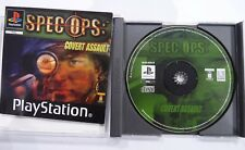 Spec Ops Covert Assault Sony PlayStation 1 Game PS1 with Manual  VGC