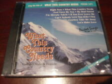 POCKET SONGS KARAOKE DISC PSCDG 1471 WHAT THIS COUNTRY NEEDS CD+G MULTIPLEX