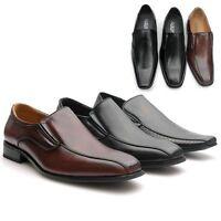 Top Herren Schuhe Elegant Business Slipper Anzugschuhe Gr.40 41 42 43 44 45