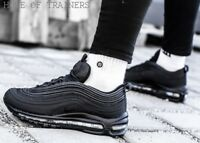Nike Air Max 97 OG Triple Black Kids Boys Girls Trainers All Sizes
