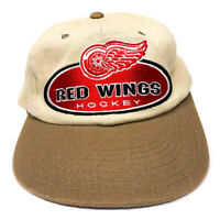 VINTAGE 90's Starter NHL Detroit Red Wings Hockey Hat One Size