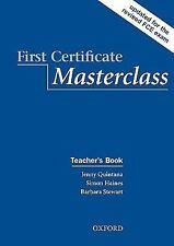 First Certificate Masterclass: Teacher's Book, , Stewart, Barbara, Haines, Simon