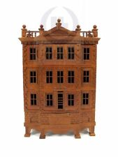 """Miniature Wooden The """"George"""" Baby House [Finished in walnut]"""