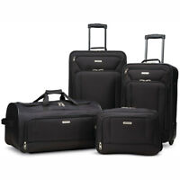 "American Tourister Fieldbrook XLT 4 Piece Luggage Set (25"", 21"") - Choose Color"
